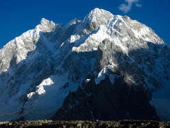 K6 (7040m), Charakusa Valley, Karakorum, first climbed in July 2013 by Raphael Slawinski and Ian Welsted