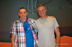 Luca Zardini and Jerry Moffatt at Cortina InCroda!