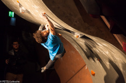 James Webb climbing to victory in the La Sportiva Legends Only 2013