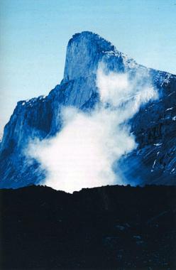 Grande frana sul Monte Thor