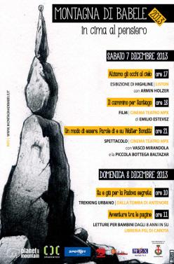 Sabato 7 e domenica 8 dicembre a Padova la prima edizione di Montagna di Babele.