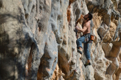 Marco Piccolo arrampica Grimilde alla Basura