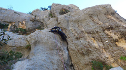 Sardinia: Doloverre di Surtana, 4 new rock climbs