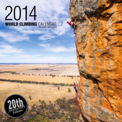 Simon Carter and his World Climbing Calendar 2014