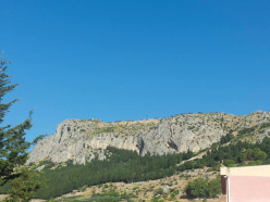 Calabria Rock 2013: the view onto Monte Consolino - Stilo