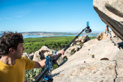Discovering the bouldering potential at Galura during Sardinia Bloc 2013