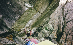 Michele Caminati su The Crack Line 8B, Ticino