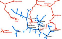 Ski mountaineering in the Apuan Alps: Monte Sagro, Tambura, Roccandagia, Contrario, Cavallo, Zucchi di Cardeto, Pisanino, Grondilice, Garnerone, Pizzo d'Uccello