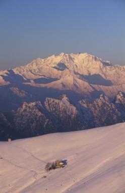 Piancavallone, I corni di Nibbio e il Monte Rosa dalla cima del Todano