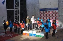 Podio maschile: 1. Alexey Tomilov 2. Maxim Tomilov 3. Park HeeYong
