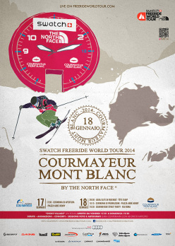 Il 17/01/2014 inizia a Courmayeur la prima tappa della Swatch Freeride World Tour by The North Face 2014.