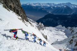 During the Ski mountaineering World Cup 2013