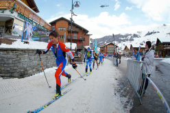 2014 Scarpa ISMF World Cup - Verbier Vertical Race: Matheo Jacquemoud