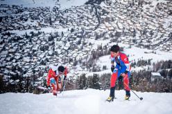 2014 Scarpa ISMF World Cup - Verbier Vertical Race, Matheo Jacquemoud & Kilian Jornet Burgada