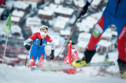 2014 Scarpa ISMF World Cup - Verbier Vertical Race: Laetitia Roux