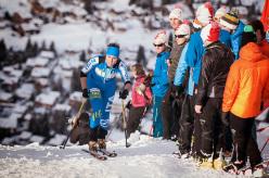 2014 Scarpa ISMF World Cup - Verbier Vertical Race: Elena Nicolini