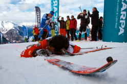 2014 Scarpa ISMF World Cup - Verbier Vertical Race: Kilian Jornet Burgada