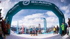 2014 Scarpa ISMF World Cup - Verbier Vertical Race: 1 Laetitia Roux, 2 Maude Mathys, 3 Victoria Kreuzer