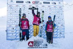 The ski podium