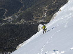 First descent of Pelmetto, Francesco Vascellari and Loris De Barba, marzo 2013