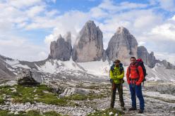 Spedizione Annibale: Elis Bonini e Edoardo Cagnolat, Tre Cime di Lavaredo