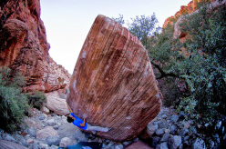 Niccolò Ceria repeating Meadowlark Lemon V14, Red Rocks, USA