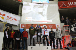 The male podium at Saas Fee