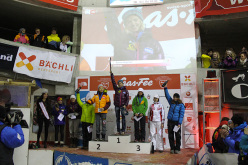 The female podium at Saas Fee
