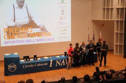 Stefano Carnati riceve la menzione speciale al Premio Gianni Brera 2013