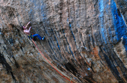 Adam Ondra, interview after First Round First Minute repeat at Margalef