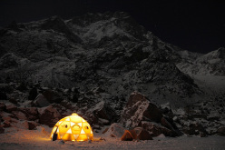 Nanga Parbat Base Camp, at 3600m