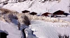 L'immensa valanga in Val Passiria, Alto Adige di giovedì 7 gennaio 2014.