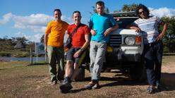 Escalador Selvatico: Escalador Selvatico: Maurizio Oviglia, Rolando Larcher, Luca Giupponi and Ivan Calderon