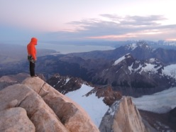 Tommy Caldwell e Alex Honnold durante la Traversata del Fitz Roy, Patagonia
