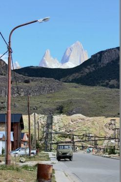 Fitz Roy seen from El Chalten