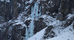 Vallone di Sea: the icefall Balma Massiet