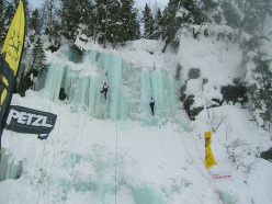 Ice climbing in Norway: the competition