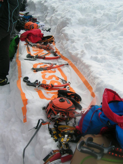 Ice climbing in Norway: Cassin gear at the competition