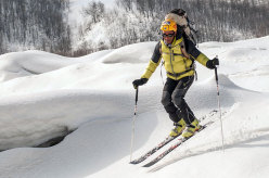 Paolo Rabbia and his great Pyrenees winter ski traverse