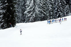Les Diablerets Individual Race: Kilian Jornet Burgada in the lead
