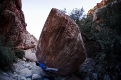 Niccolò Ceria su Meadowlark Lemon 8B+.