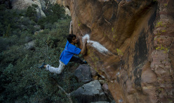 Niccolò Ceria on Stand and Deliver 8A.