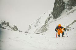 During the Polish attempt of the first winter ascent of Nanga Parbat