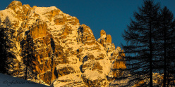 The West Face of Conturines, Alta Badia, Dolomites