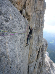 Nicola Sartori on the 3rd pitch