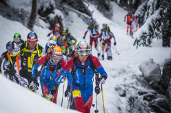 Pierra Menta 2014: Matteo Eydallin & Damiano Lenzi in the lead