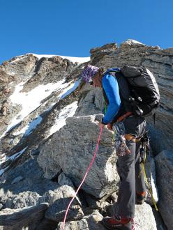 Andrea Enzio, Guide Alpine Alagna