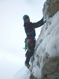 On 28/03/2014 Riccardo Quaranta and Claudio Di Rienzo made the frist ascent of The Boxer, up Monte Pandoro (Monte Miletto, Gruppo Monti del Matese), Molise, Italy