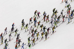 During the 40th Ski Alp Race Dolomiti di Brenta
