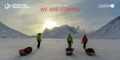 Ray Zahab, Ferg Hawke, Ryan Grant and Stefano Gregoretti, Baffin island